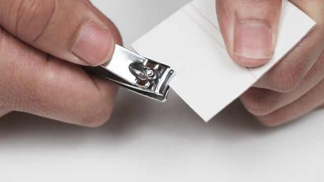 指甲刀变钝难用?秒变锋利了解一下