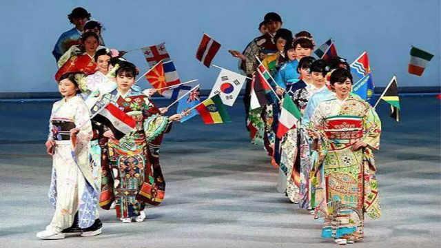 东京奥运会为所有国家专门定制和服