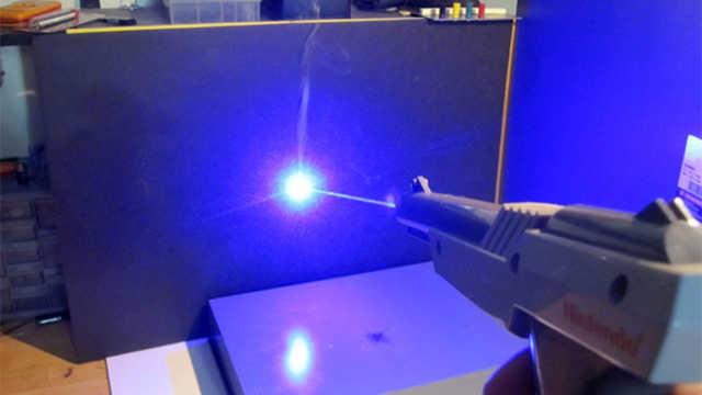 镜子能将激光反弹回去吗?