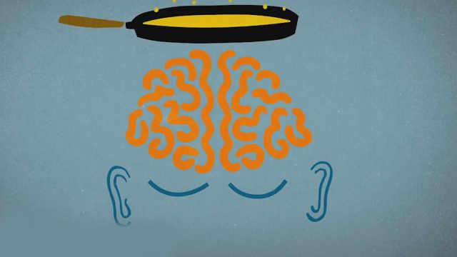 脑子有时不由自主的放歌?