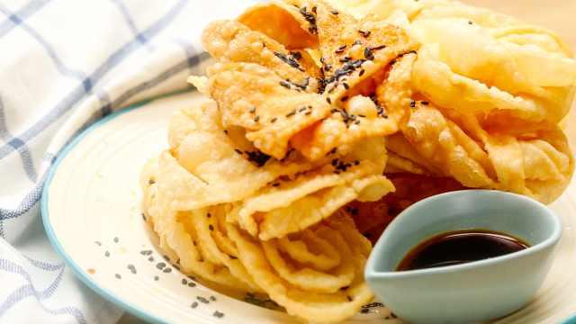 这才是饺子皮的至尊吃法,完美!