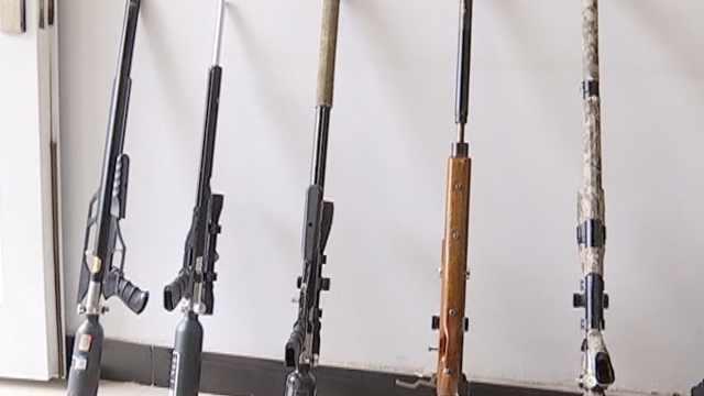 网购零件组枪,民警顺快递破贩枪案