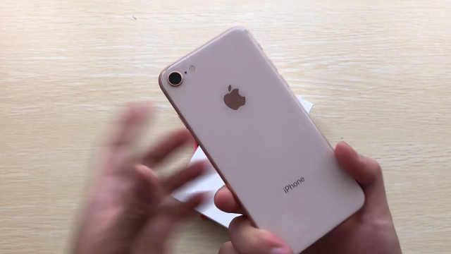 iPhone 8开箱,太漂亮了!