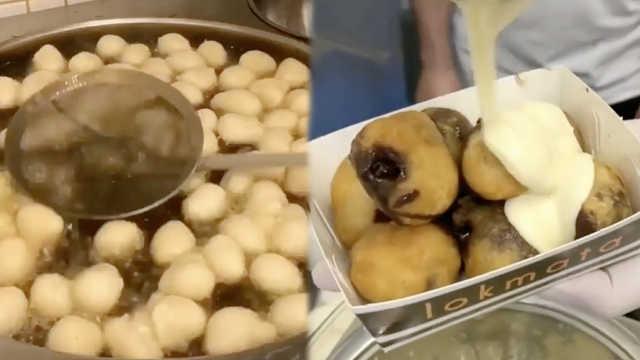 """治愈系甜食:土耳其地道""""炸面团"""""""