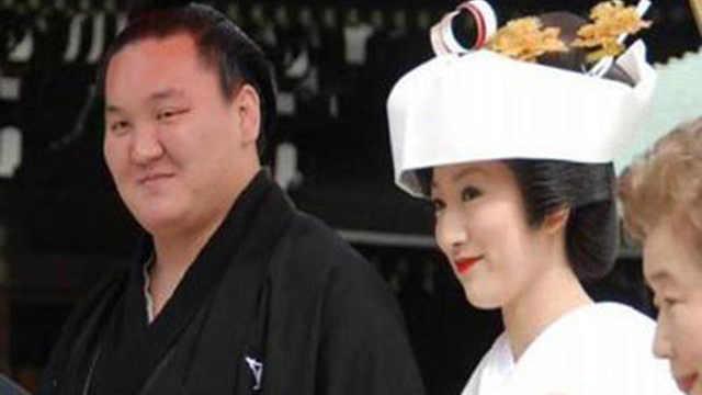 日本有很多漂亮女生会嫁给相扑手?