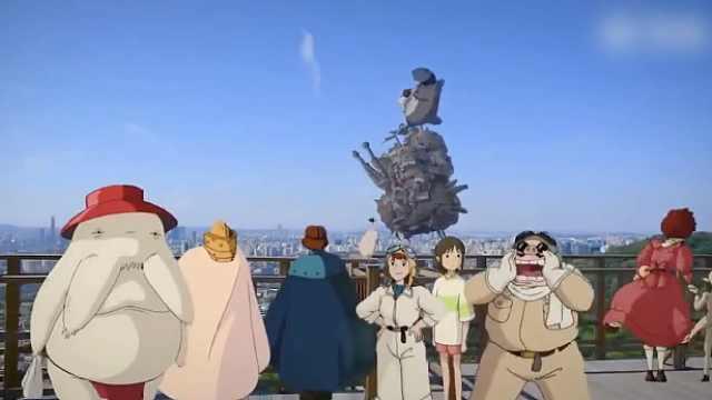 当宫崎骏的动画走进现实,被治愈了