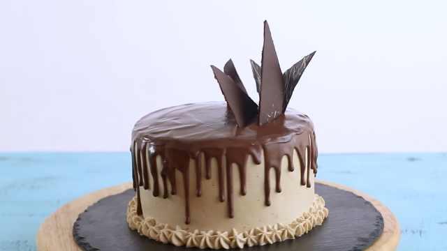 美味的巧克力蛋糕,自制甜品蛋糕