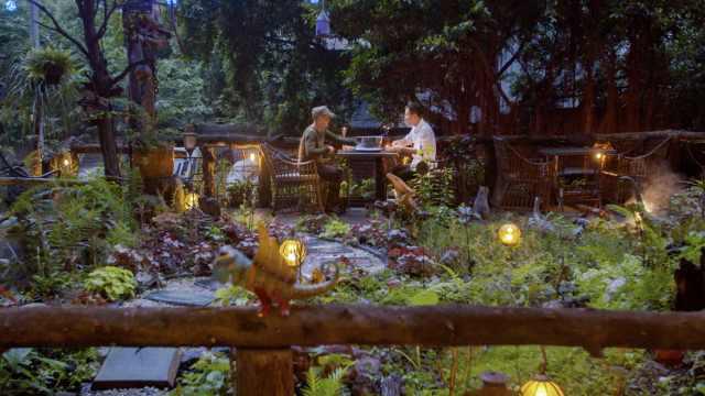 重庆小哥花150万给老爸造花园