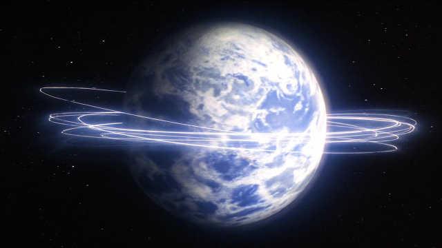 如果地球改变自转方向……