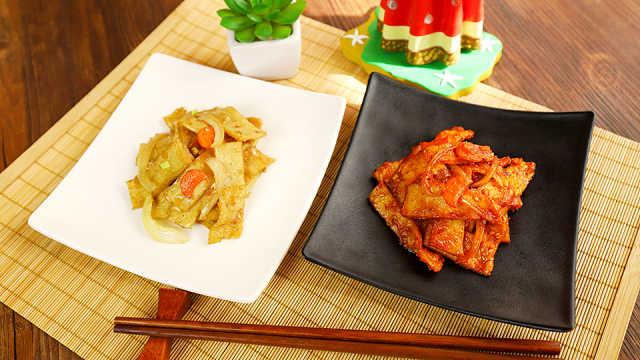 暖心推荐:鲜味十足的炒鱼饼
