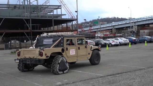 美军研发可变形轮胎提升机动能力