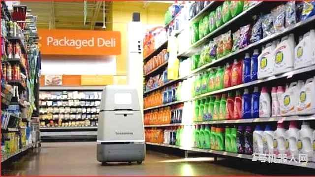 用一款库存机器人征服顾客