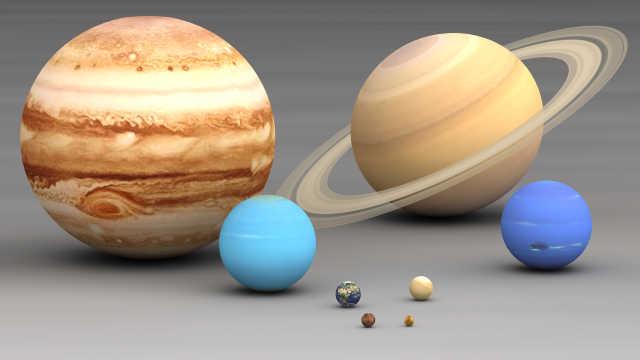为啥太阳系的星球都在同一个平面上