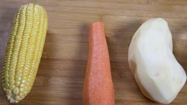 全套世界杯下酒菜:蔬菜土豆泥