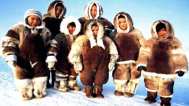 北极人怎么晒衣服?真实情况太有趣