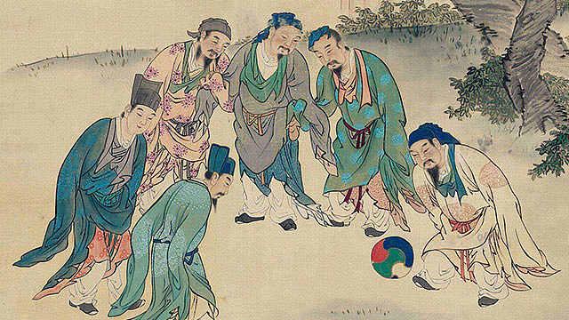 """蹴鞠:曾经辉煌的""""中国足球"""""""