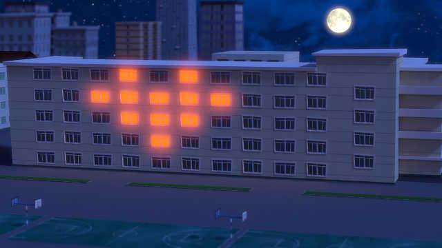 如此炫酷的教室灯光,厉害了