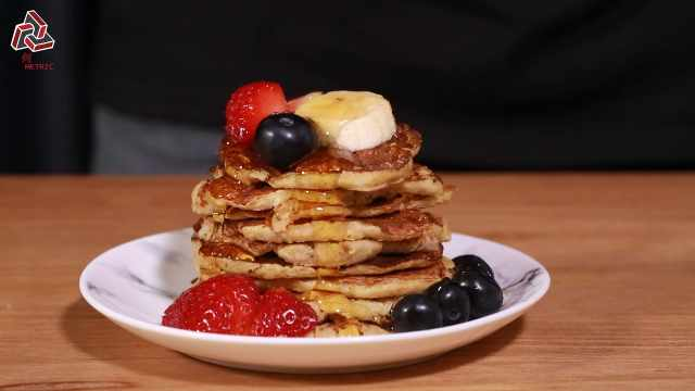 不用面粉也能做出美味pancake
