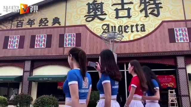 半島記者提前打探青島啤酒節會場