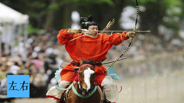 古代日本武士如何决斗?骑驴对射