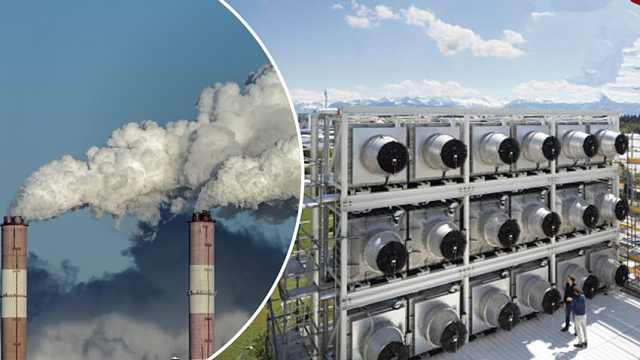 兄弟俩造大风扇,每年收集900吨CO2