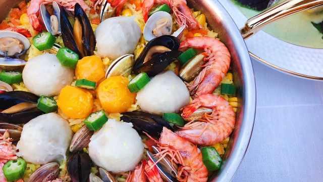 今日私房菜—咖喱鱼丸饭