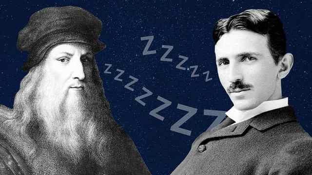 达芬奇推崇的睡眠法,你知道吗?