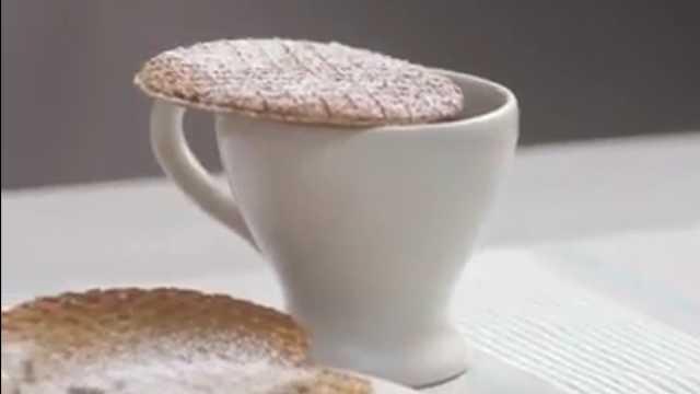 美味!一分钟就能学会的糖浆华夫饼