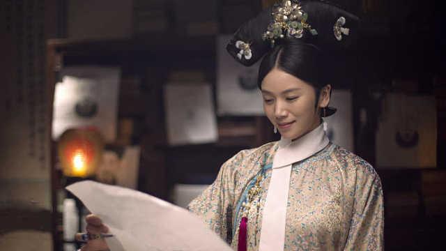 《如懿传》里的后宫佛系画家婉贵妃