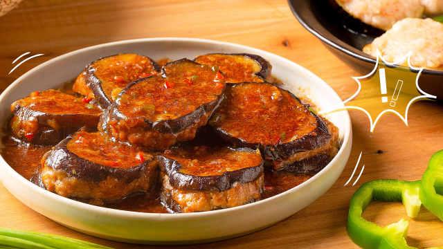 秋天的茄子,和肉一起烧最合适!