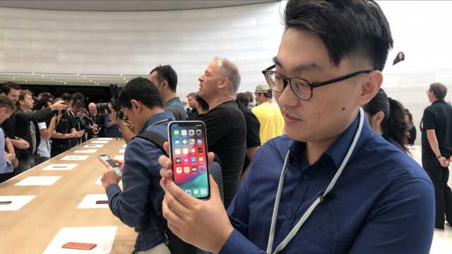 苹果全新 iPhone XR 现场上手