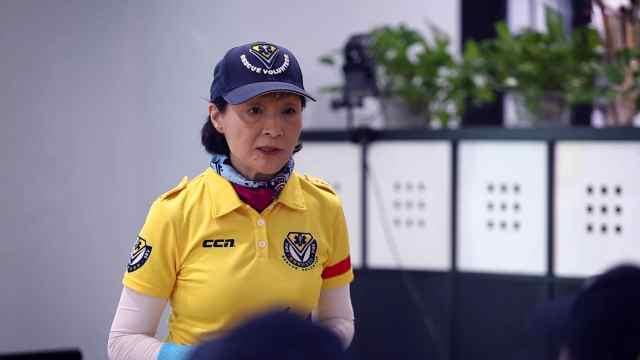 日本阿姨在中国义务推广急救知识