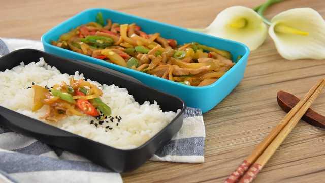 榨菜炒肉丝——下饭神菜
