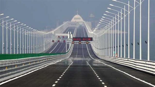 港珠澳大桥的桥墩是怎么建造的?