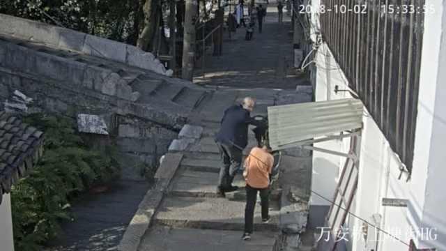爷爷搞丢孙子,熊孩子徒步走到外地