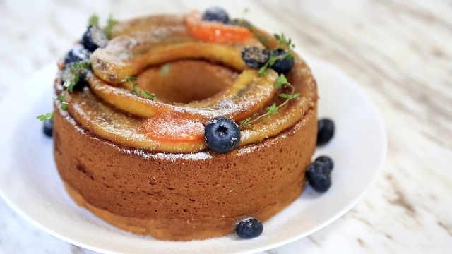 乡村焦糖香蕉蛋糕:什么是乡村风?