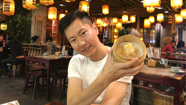 北京最奇特的老红糖炝大闸蟹!
