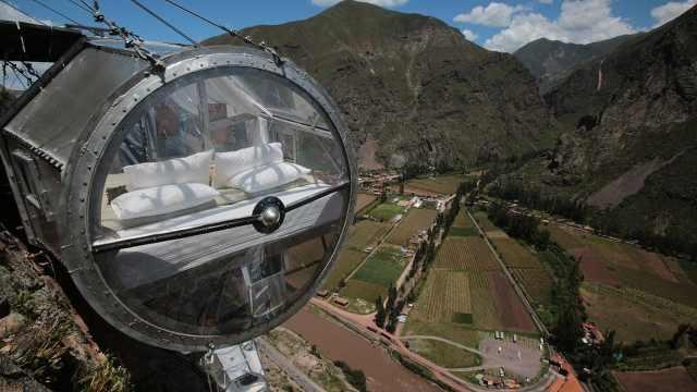 世界上最危险的旅馆,悬空366米