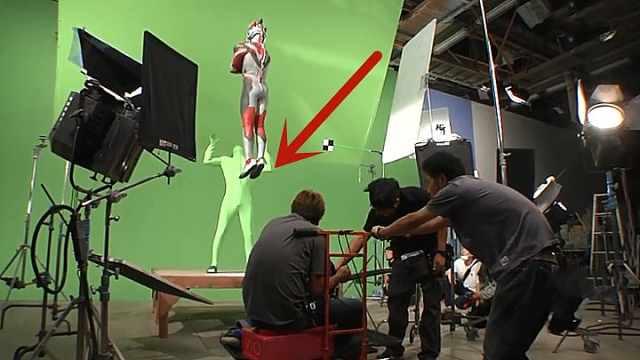 你知道奥特曼华丽落地怎么拍摄的?