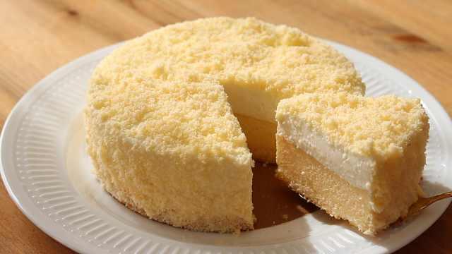 零失败做香甜芝士海绵蛋糕