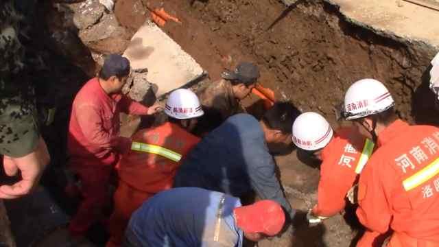 猛犸视频丨洛阳一道路施工中坍塌