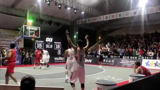 华侨大学夺世界男篮冠军:国内首次