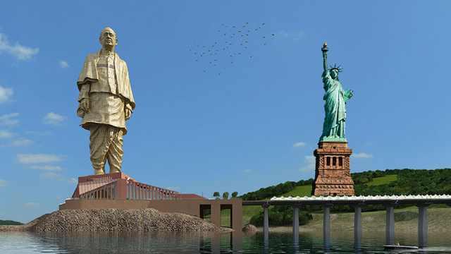 印度花299亿卢比造世界最高雕像