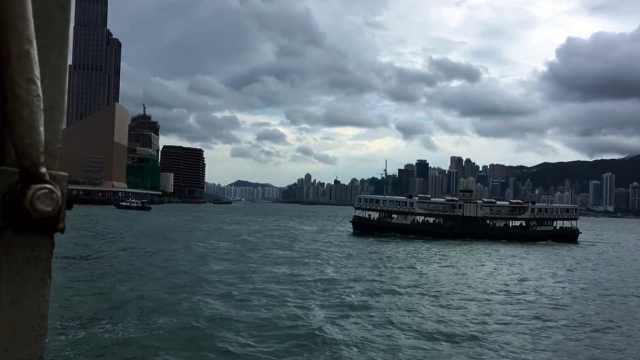 香港游记之坐渡轮从尖沙咀到中环