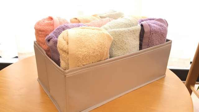 毛巾该如何折叠收纳