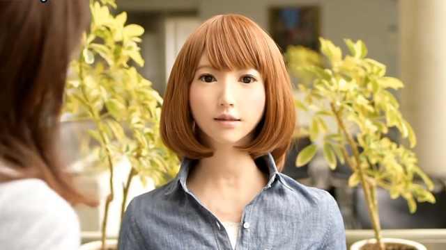 日本研发出世界上最美机器人Erica