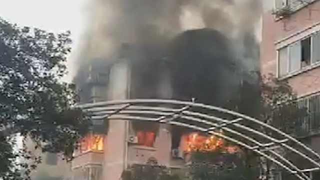 苏州警方:居民楼燃气泄漏发生爆燃