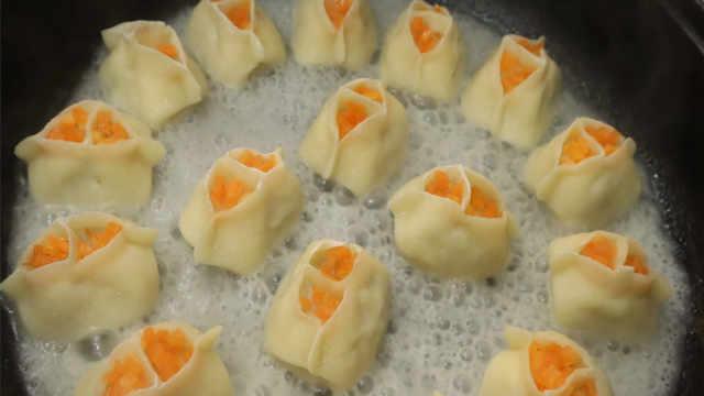 饺子独特的做法,不煮也不蒸