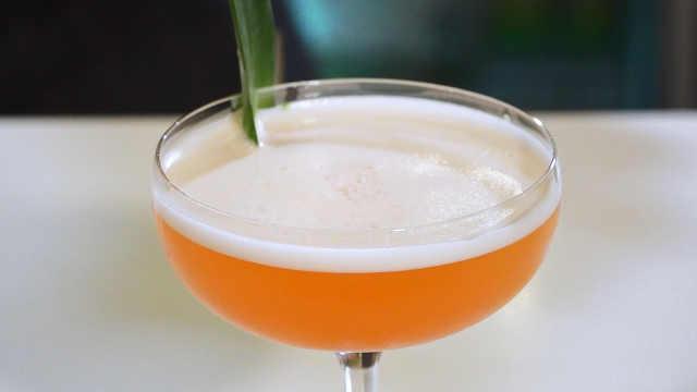 美食小课堂:用朗姆酒做香草鸡尾酒