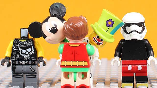 【国王先生】乐高玩具卖酷炫的服装